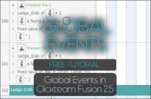 Global Events in Clickteam Fusion 2.5