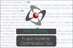 Clickteam Fusion 2.5 Optimization Tips