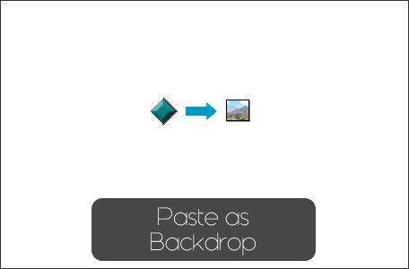 pasteasbackdrop