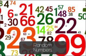 randomnumbers