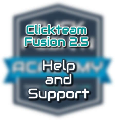 Clickteam Fusion 2.5 Help Support