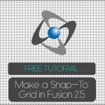 Fusion 2.5 – Make a 'Snap-to' Grid