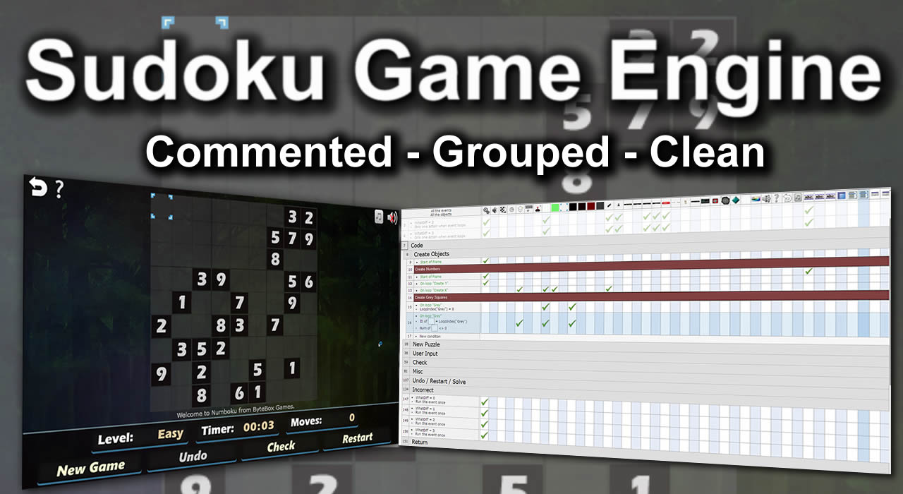 Sudoku Game Engine Open Source
