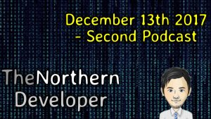 December 2017 – Second Podcast – It's Xmas