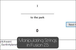 String Manipulation in Clickteam Fusion 2.5
