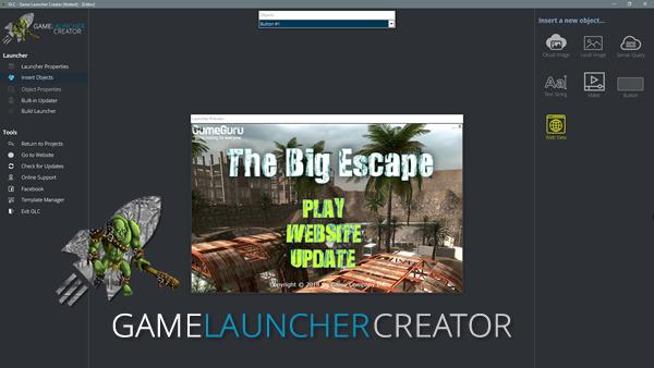 Game Launcher Creator